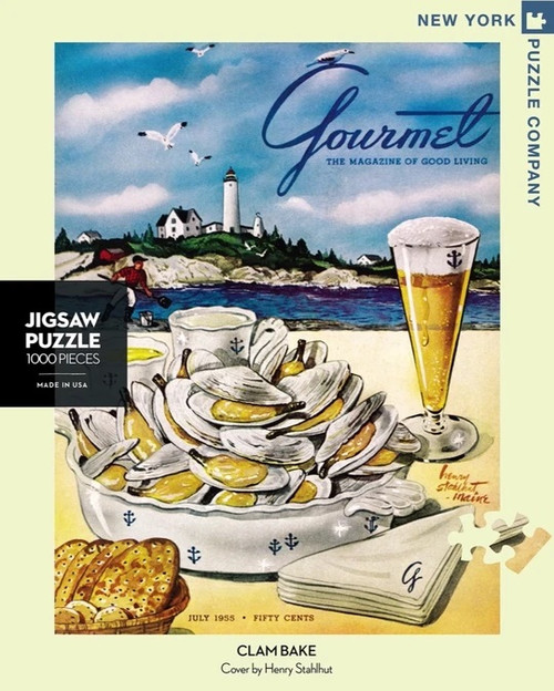 Gourmet Cover - Clambake Puzzle