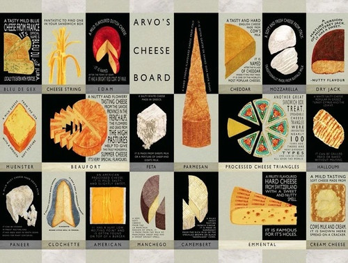 Arvo's Cheese Board Puzzle by Neil Packer