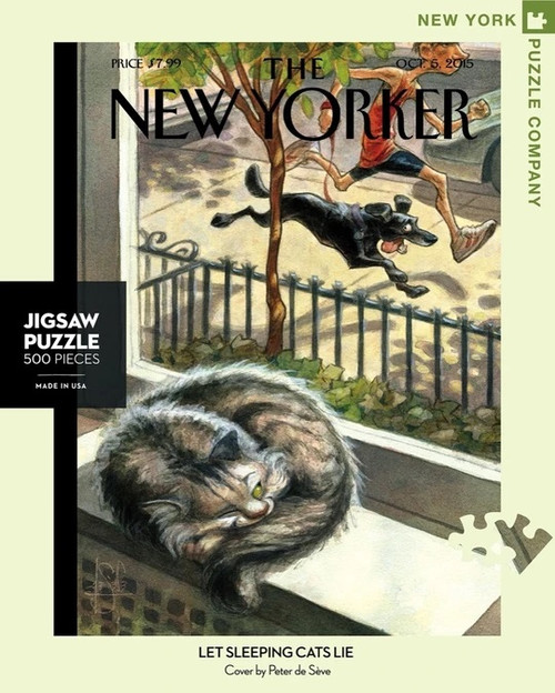Let Sleeping Cats Lie New Yorker Cover Puzzle