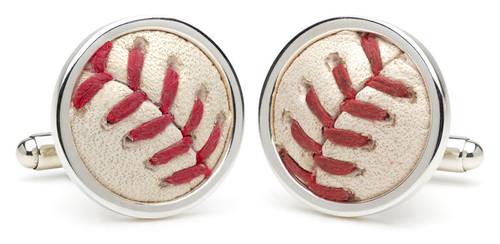 Baseball Stitch Cufflinks