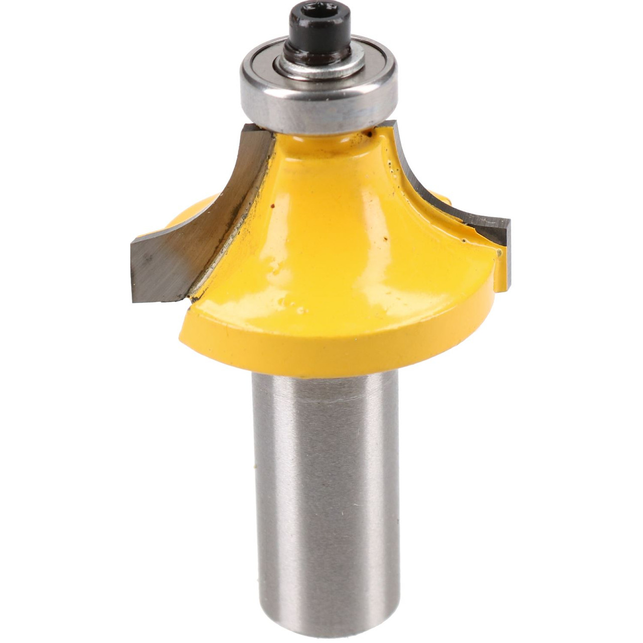 """TCT Round Over Router Bit Bearing Guided Cutter 30mm D 9.5mm R 1/2"""" Shank"""