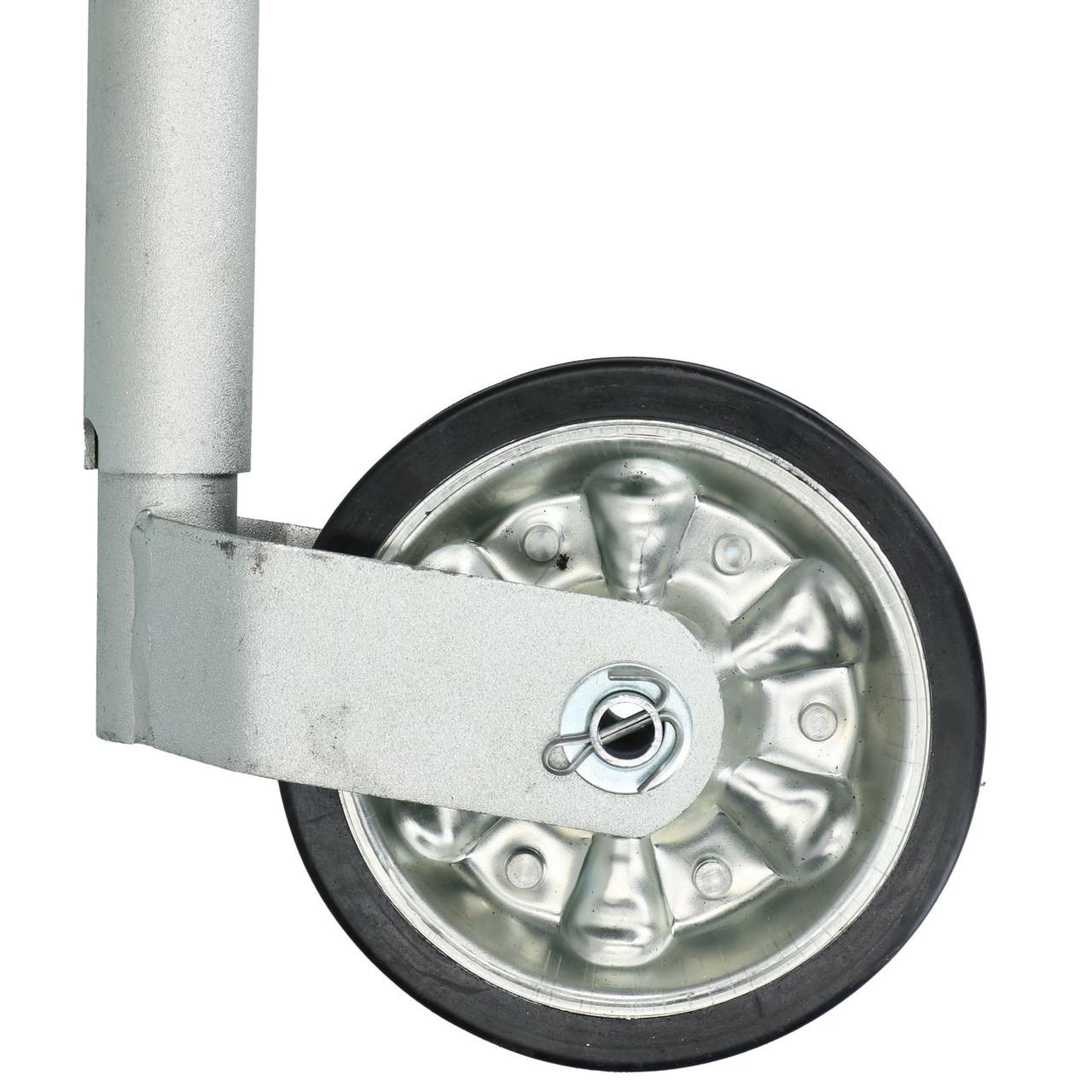 48mm Jockey Wheel for Trailer Caravan Horse Box Heavy Duty 400kg Max Nose