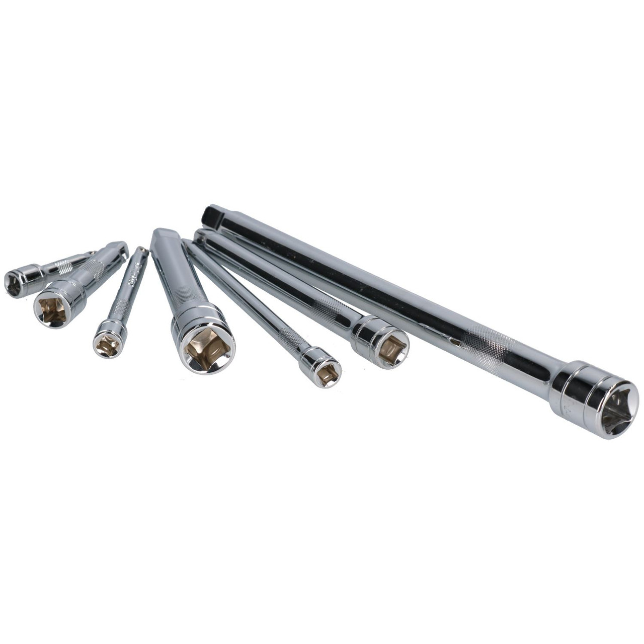 """3//8/"""" Drive Extra Long Straight Extension Bar Set 380mm 610mm 3pc 455mm"""