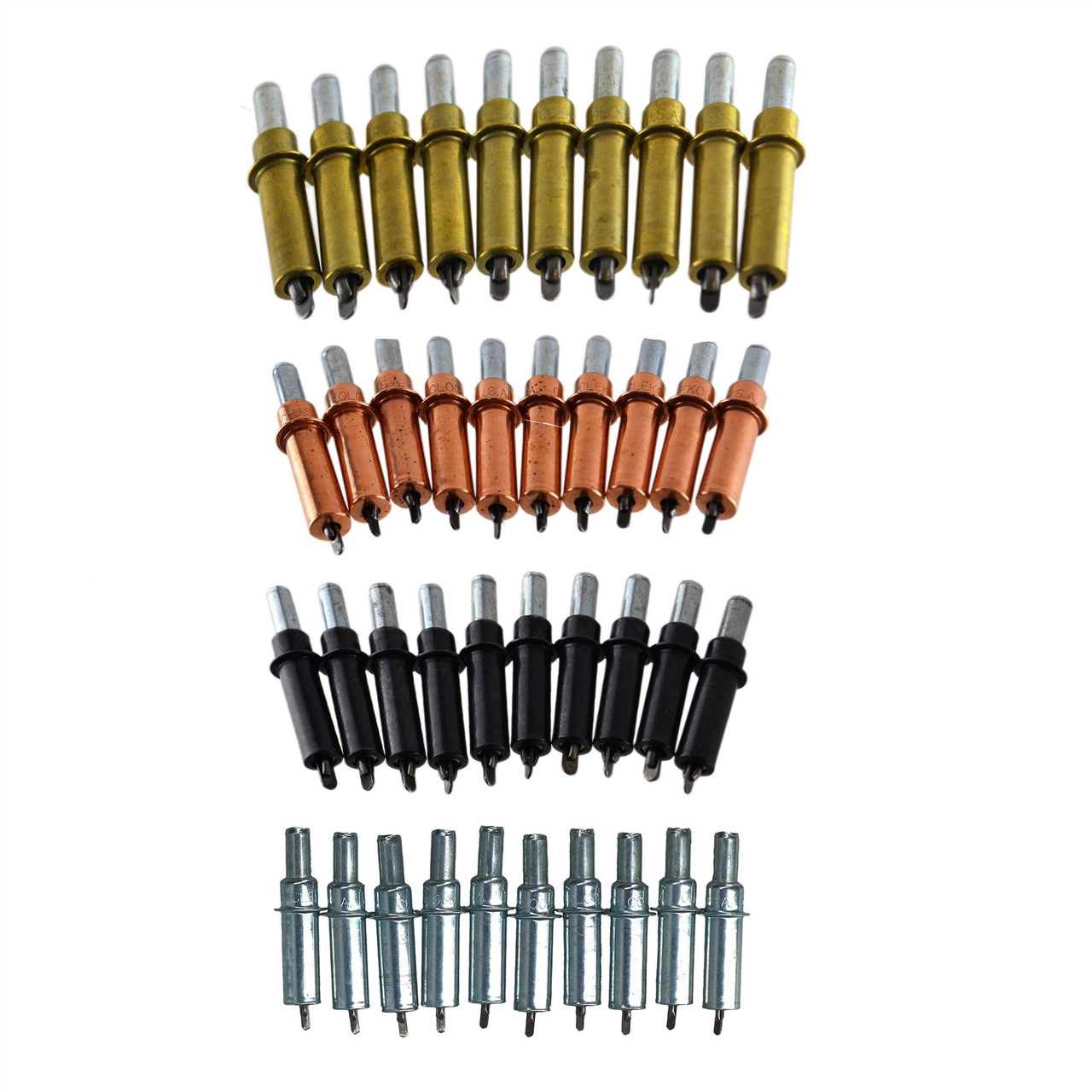 Sheet Metal Fasteners Restoration Clamps Grips Cleco Fastener Complete Kit