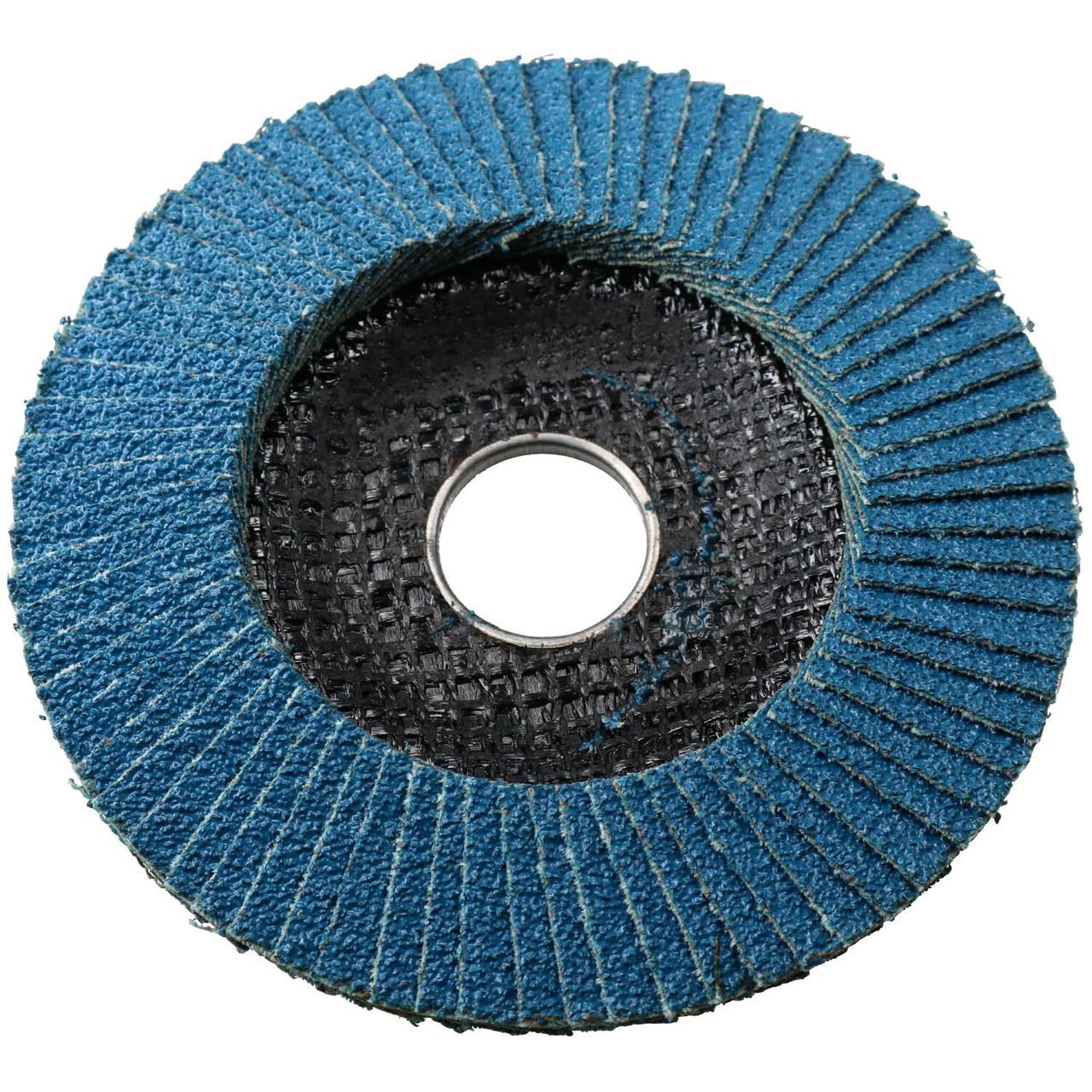 "60 Grit Zirconium Flap Discs for Sanding Grinding Removal 4-1//2/"" Grinder 10pc"