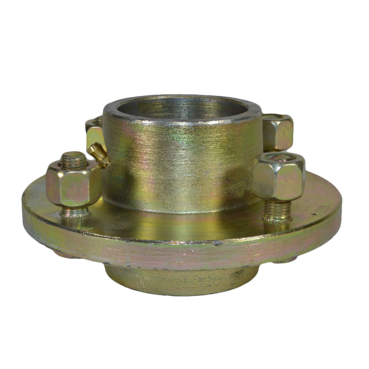 AB Tools Extended Trailer Trolley Stub Axle for 1 Wheel Bearing Hubs with Castle Nut