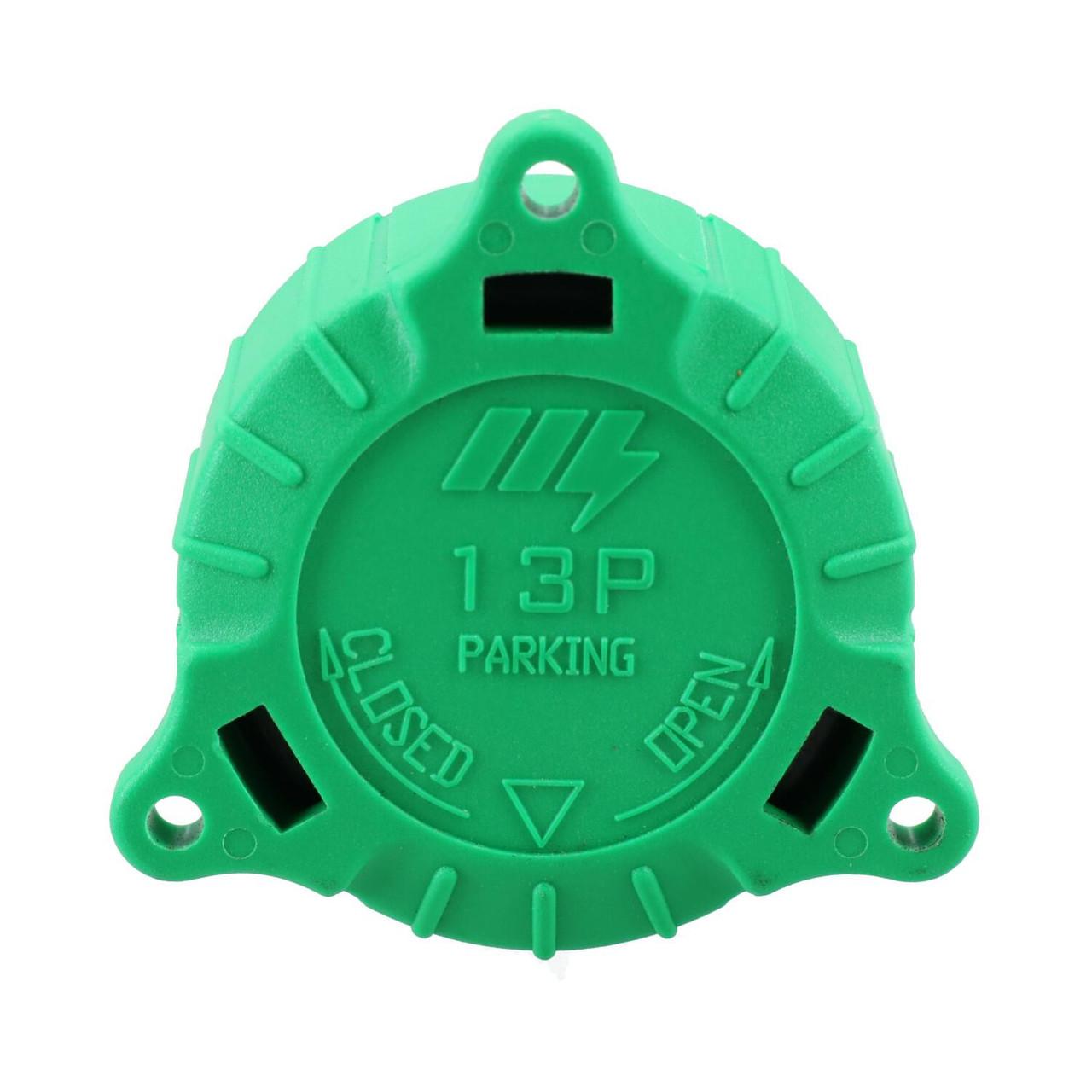 13 Pin Trailer Caravan Plug Protective Storage Alignment Cap Cover Holder