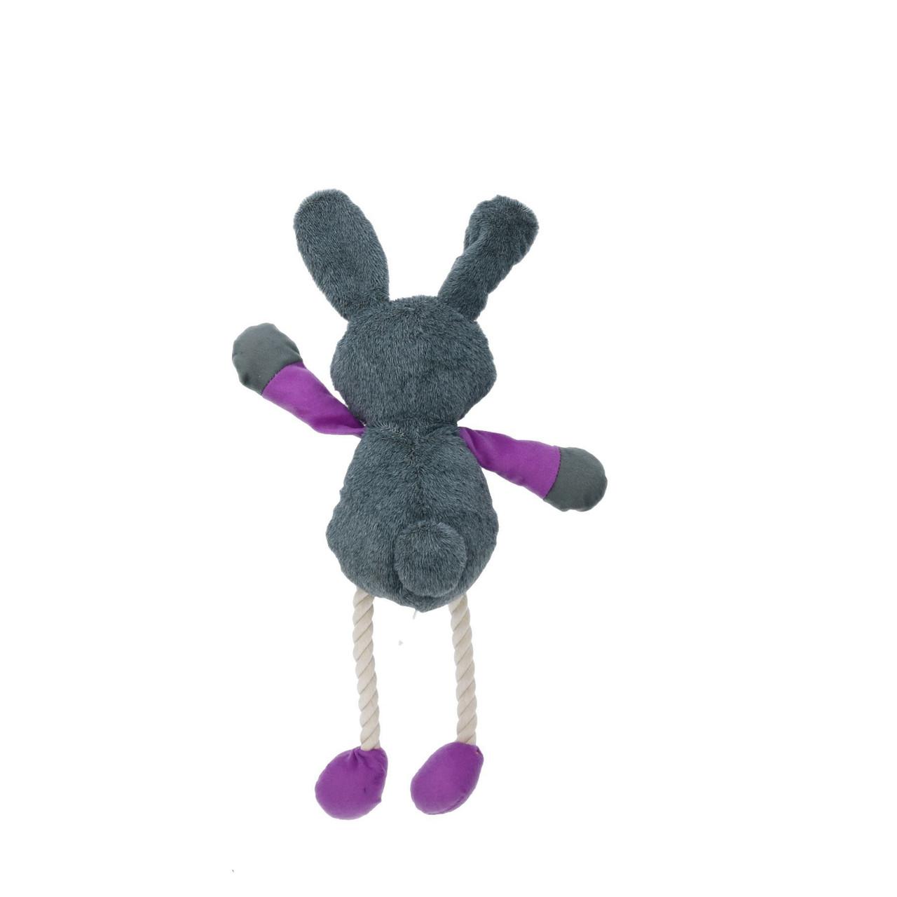 "Ruby Rabbit Soft Plush Teddy Dog Toy Squeak 40cm/17"""