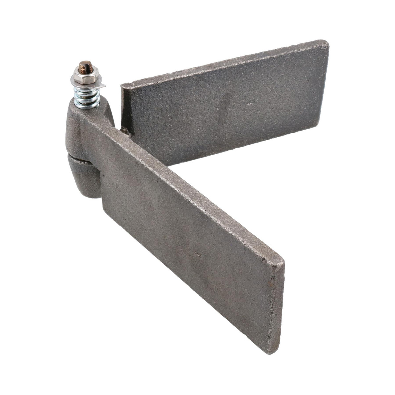 2pk Left Self Aligning Ball Steel Butt Hinge Weld-On Heavy Duty 50x250mm