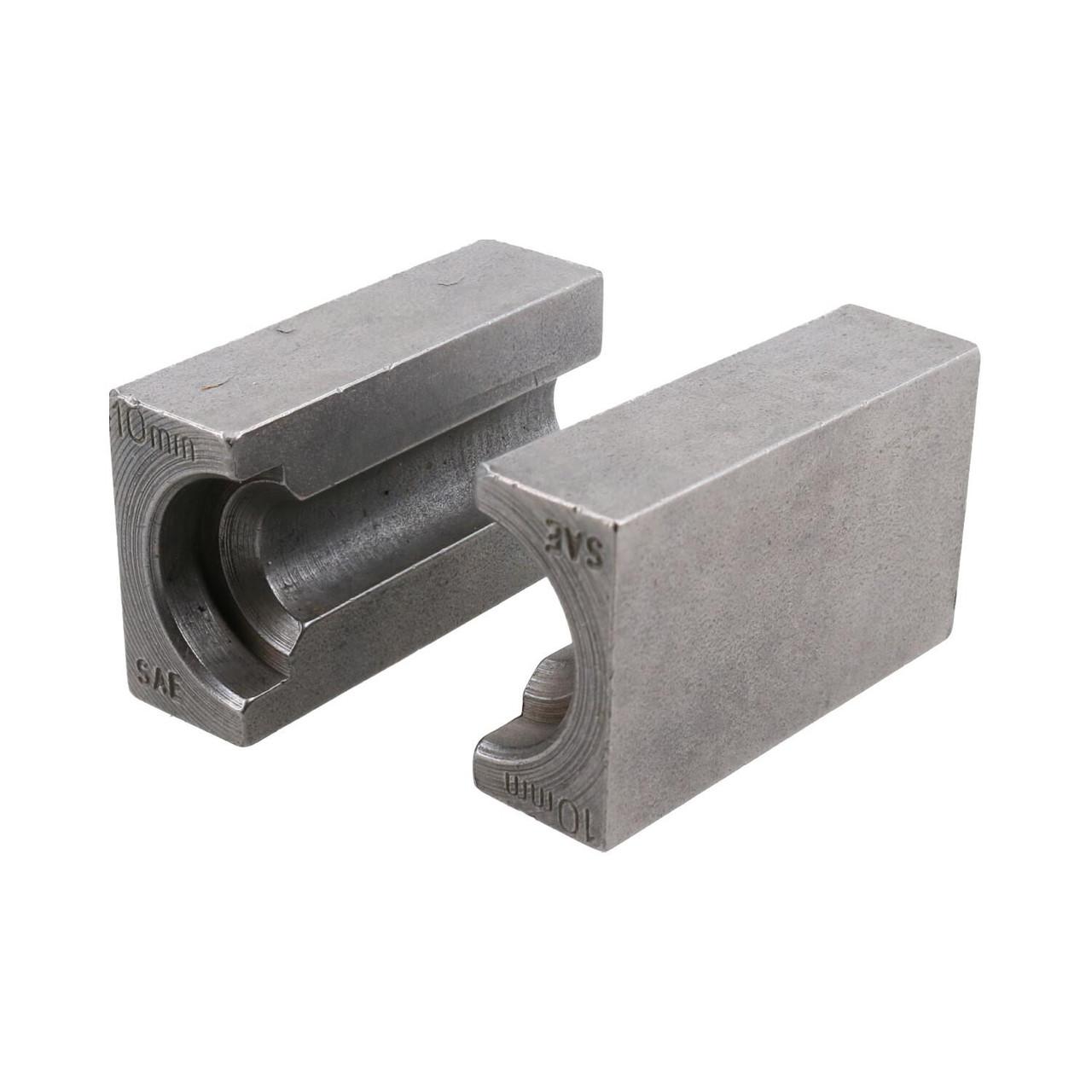 10mm SAE Brake Pipe Flaring Flare Tool Split Die Clamp FL41