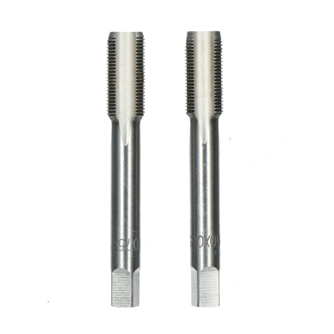 Tungsten Steel Hand Tap M10 x 1.25 Metric Pitch Drilling Tool Taper /& Plug