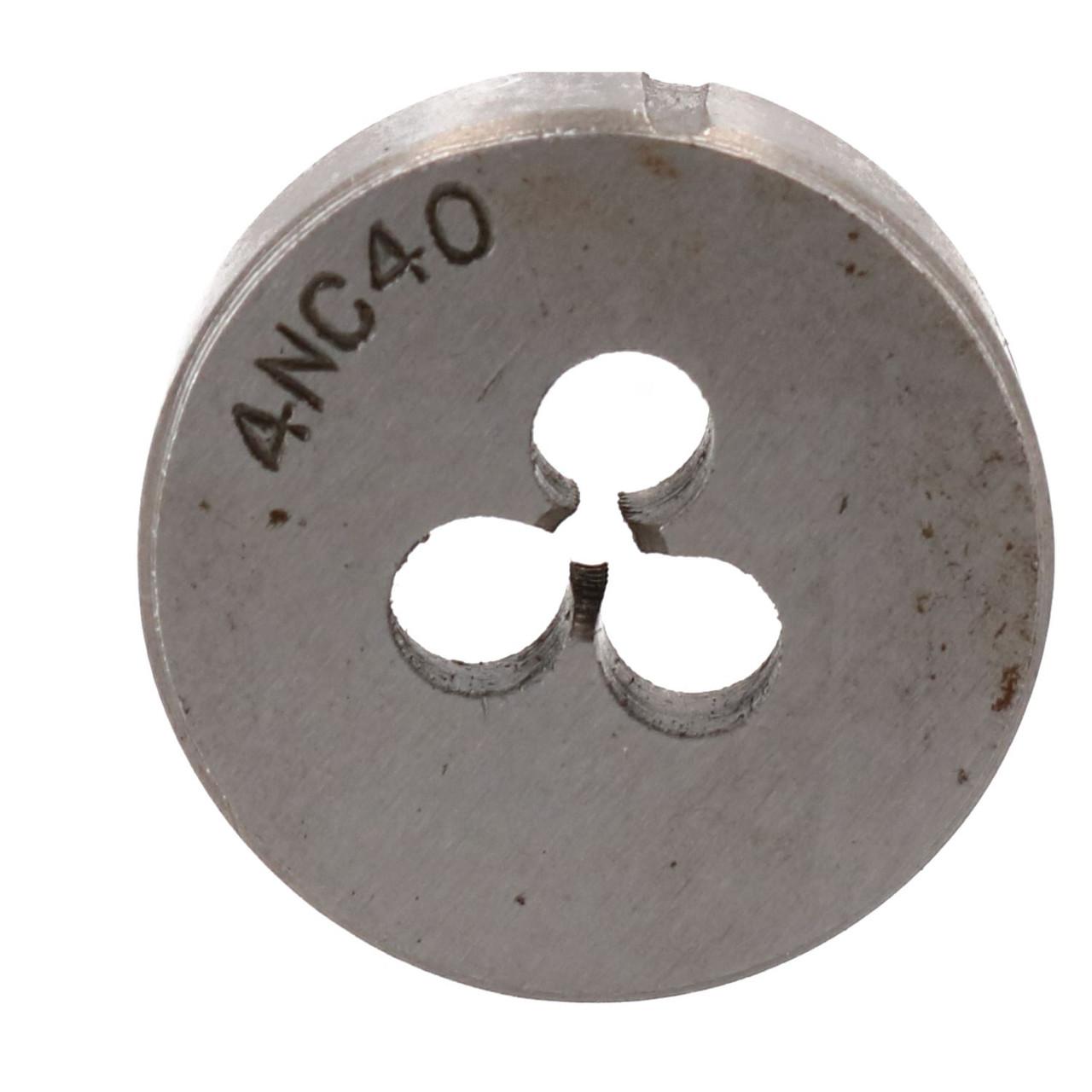 """4 x 40 UNC Imperial Die Nut 1"""" (25mm) Tungsten Steel TD127"""