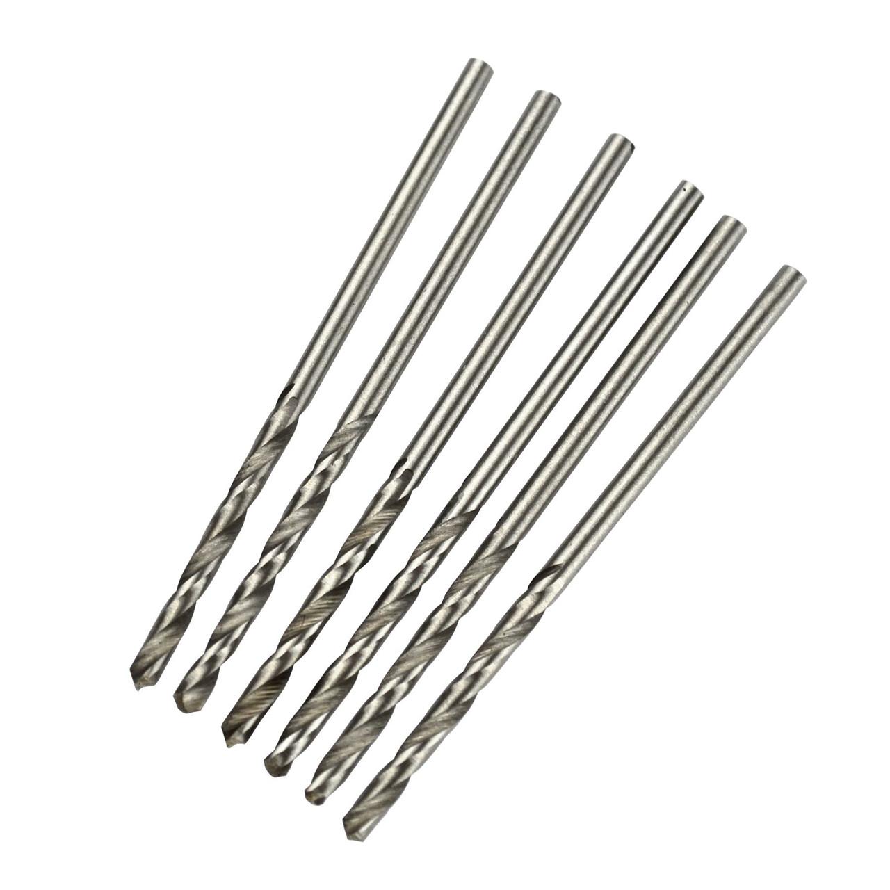 8 pcs 2.5mm long series HSS drills TE099