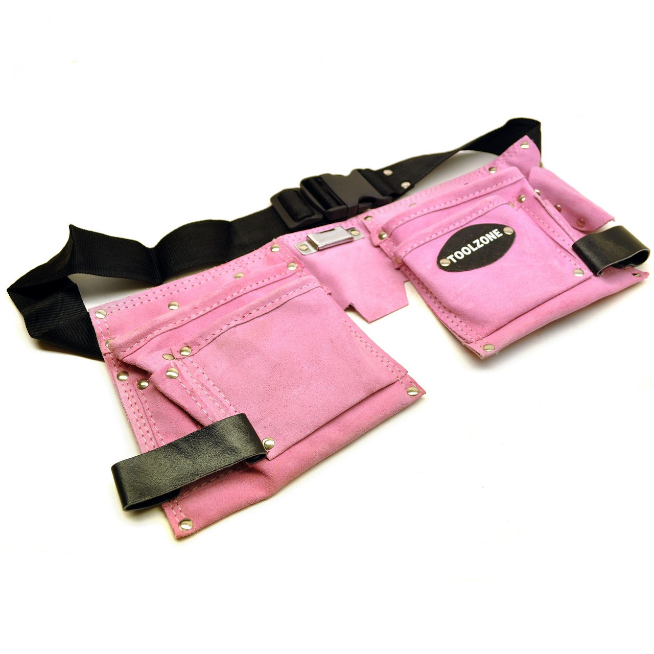 Toolzone 12 Pocket Canvas Tool Roll Storage Wallet Bag