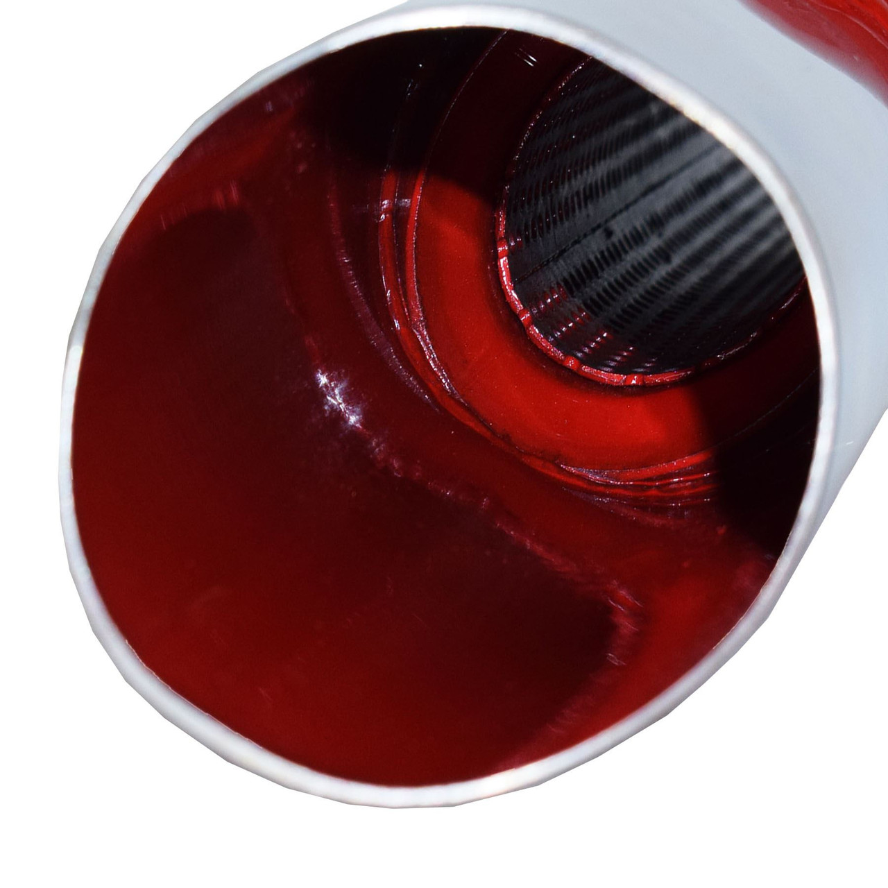 AB Tools Cherry Bomb Standard Tail Bomb Tail Pipe Oval End Exhaust Pipe Back Box