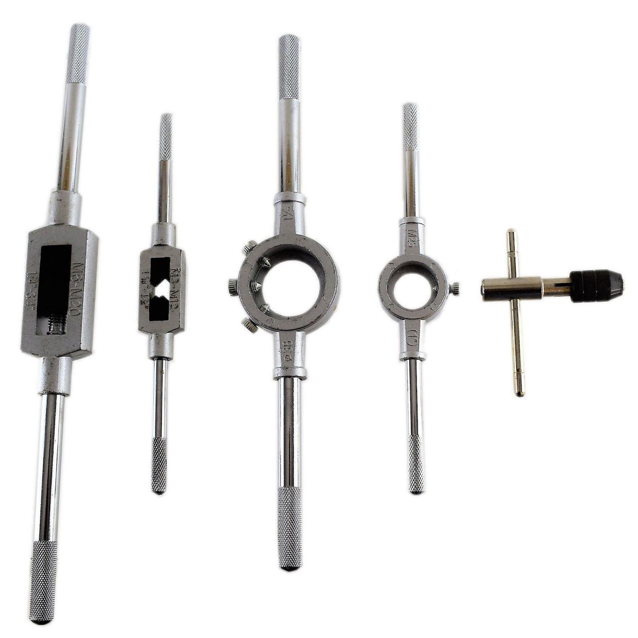 New 20mm Diamete Die Stock Wrench Holder Threading Tool 195mm Long