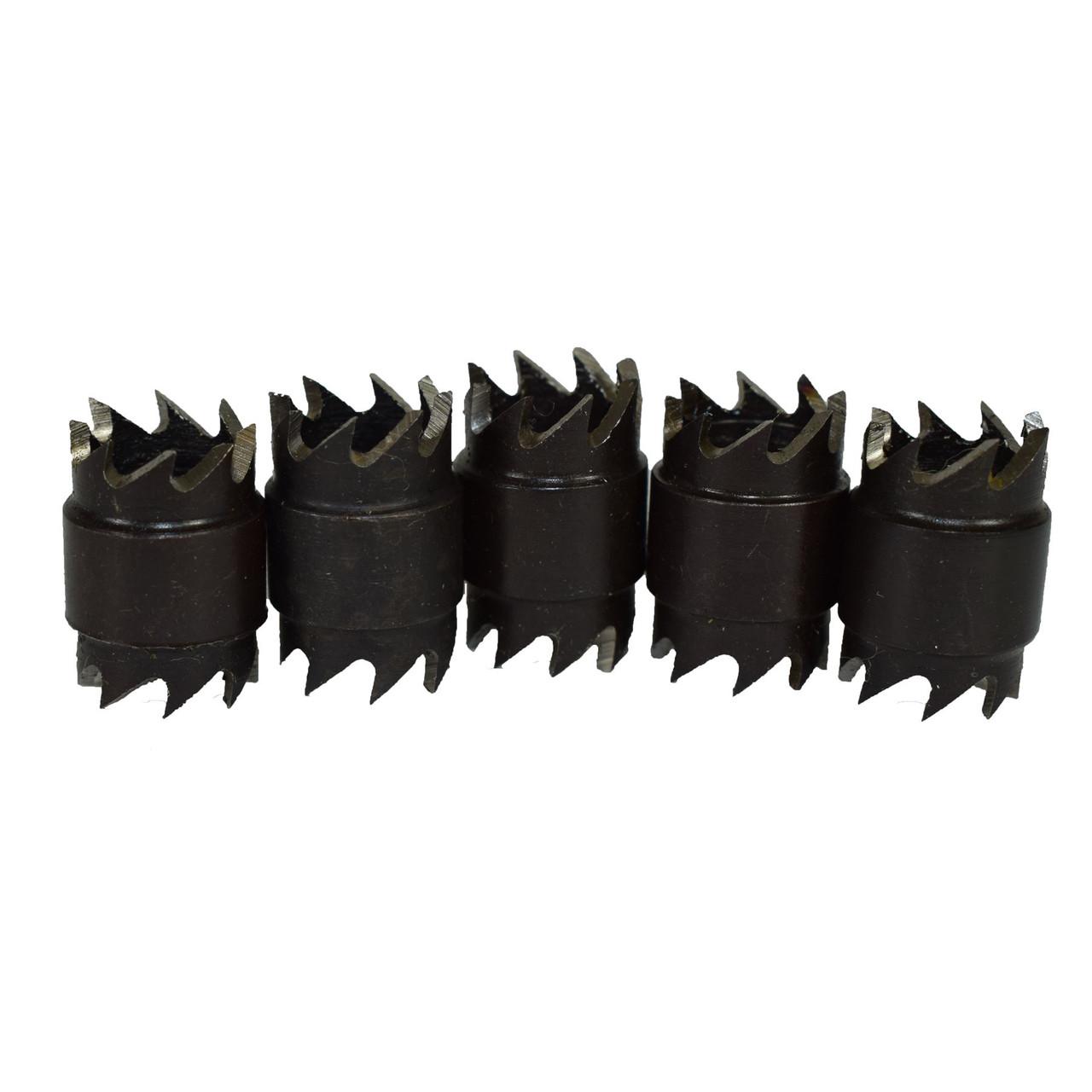 HSS Cobalt Spot Weld Cutter And Drill Set 8-9.5mm Interchangeable Heads 9pc