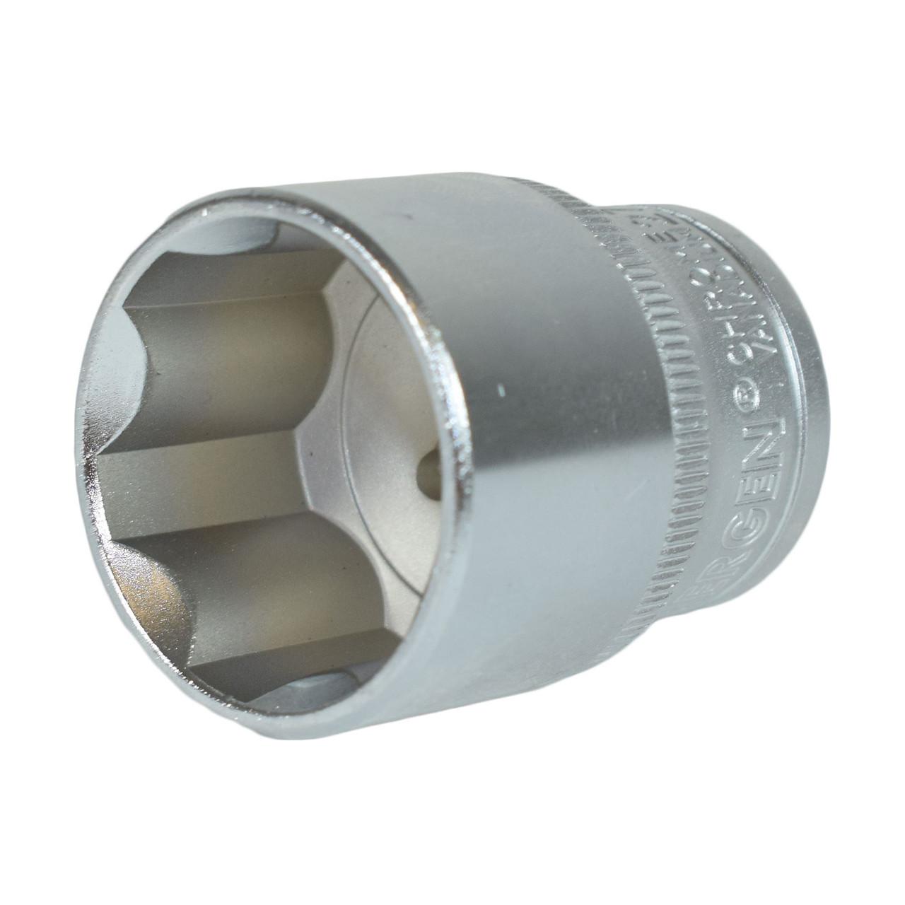 "1//2/"" Drive 15mm Metric Super Lock Shallow 6-Sided Single Hex Socket Bergen"