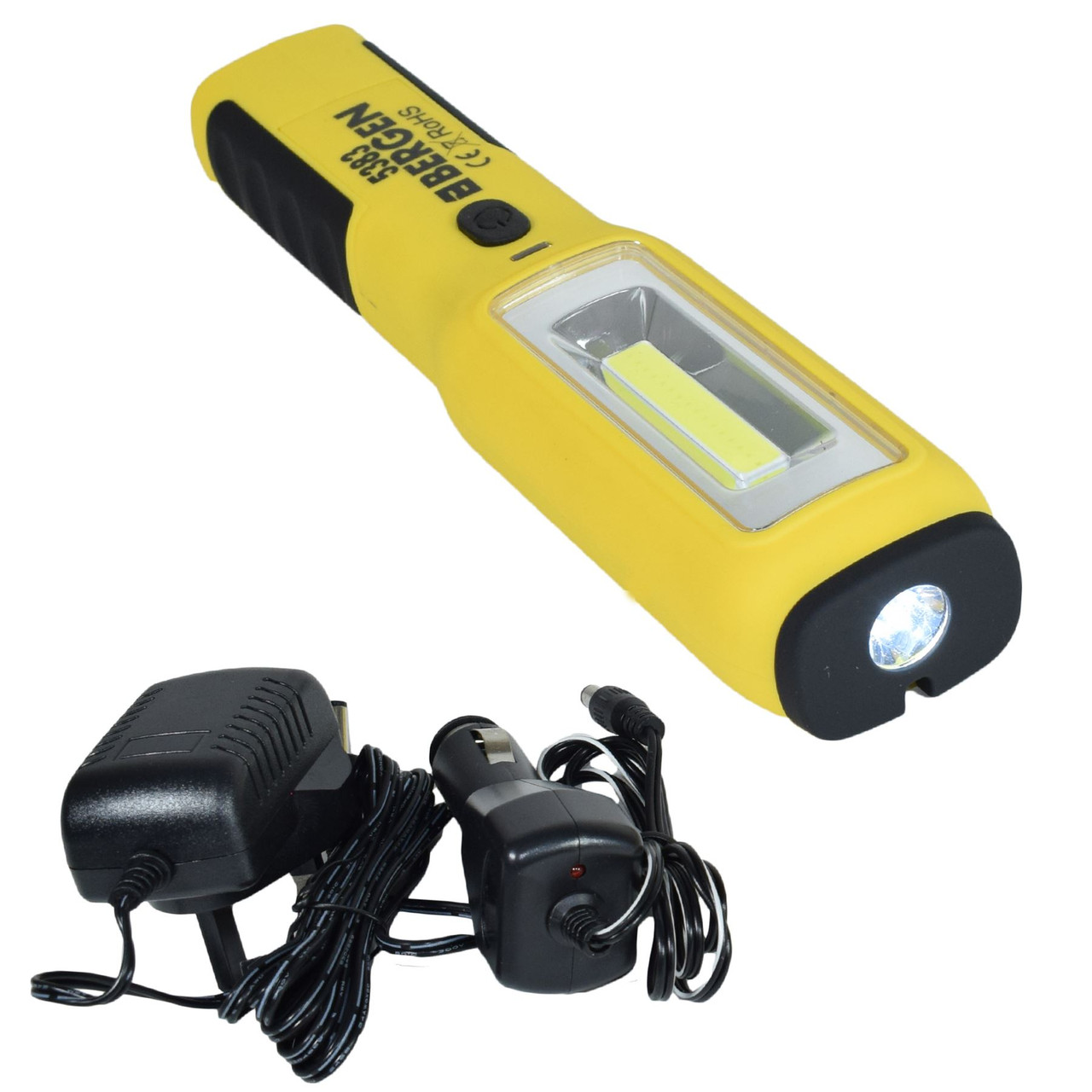 Battery Mini Inspection Light 2W LED Lights Super Bright 150 Lumens By Bergen