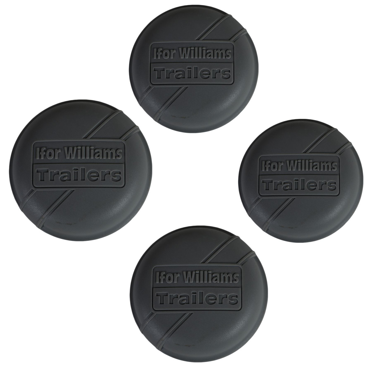 AB Tools 2 PACK 72.5mm Ifor Williams Dust Cap Wheel Hub Trailer Bearing Grease Cover