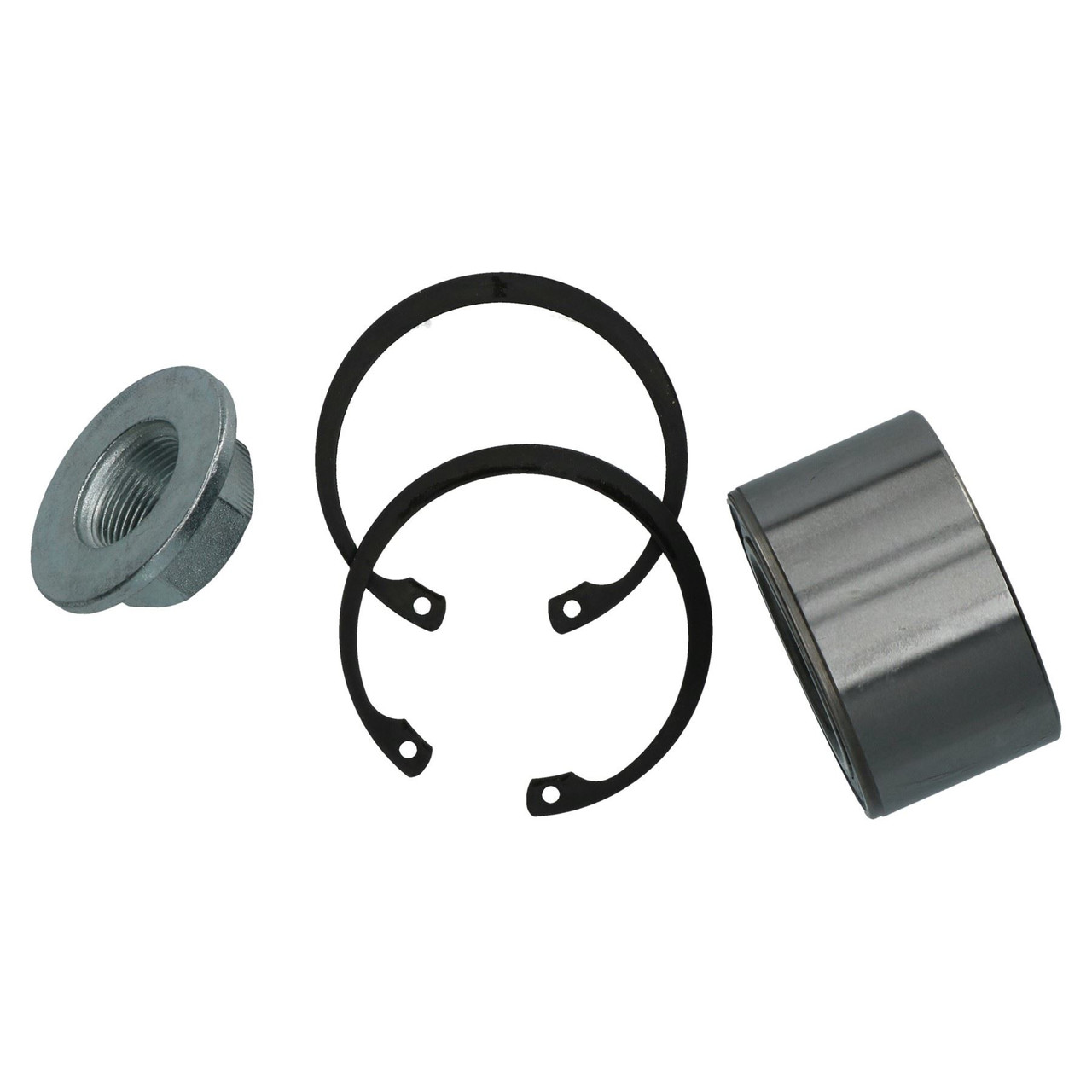 2 Double Row Sealed Trailer Bearing Kit ALKO 606250 Indespension Ref ISHU145