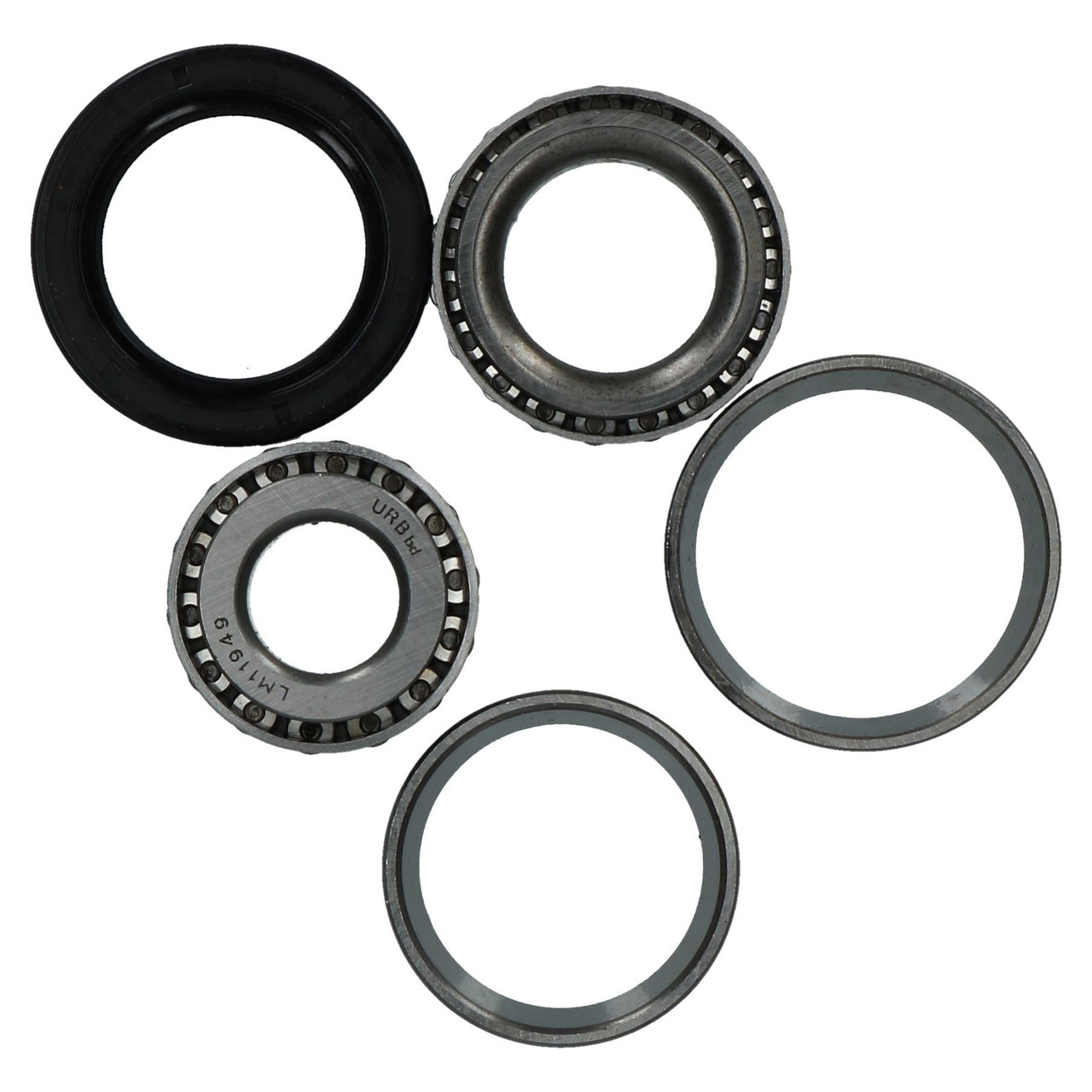 2 Trailer Taper Roller Bearing Kit Set for Meredith And Eyre 203mm x 40mm Drum