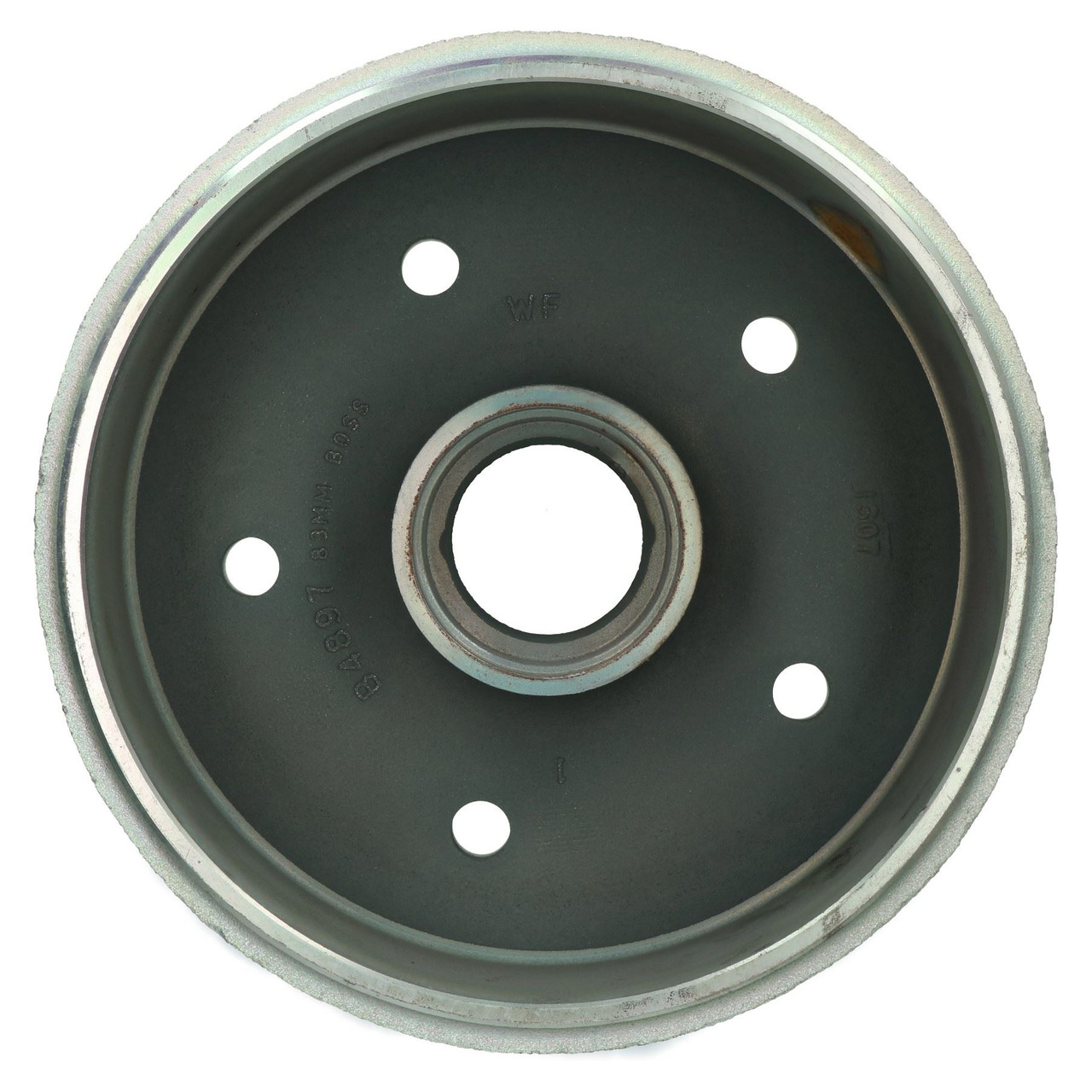 AB Tools Indespension Brake Drum for 2900kg 3000kg 3500kg Trailer 6.5 PCD 5 Stud