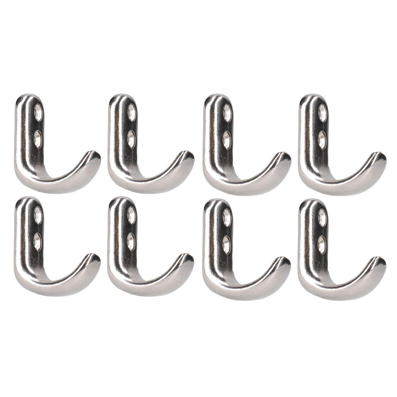 Stainless Steel Tie Down Anchor Hook Polished Marine Grade 316 8 PACK