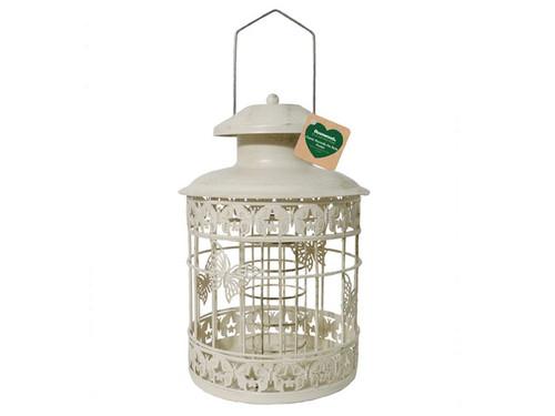 Deluxe Bird Feeder Fat/Suet Ball Holder Hanging Feeding Station For Wild Birds