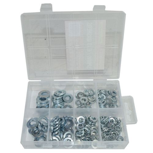 Spring and Flat Metric Assorted Washers 5mm / 6mm / 8mm / 10mm 210pc