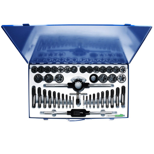 Metric MM Large M6 - M24 Tap and Die Set Thread Rethreading Set Tools 45pc