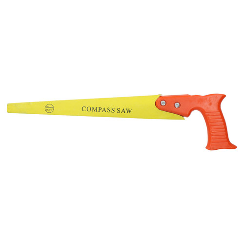 """12"""" Keyhole Compass Saw Curved Circle Cutter Hand Saw 7 TPI 300mm"""