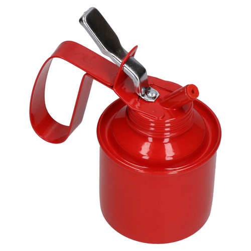 Oil Can Lubricant Metal Can Flexible Spout Nozzle Trigger Thumb Action 1/2 Pint