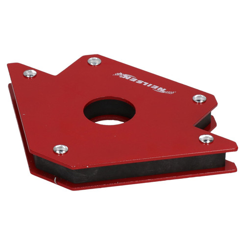 """4"""" Magnetic Large Welding Magnet Holder Support Up To 50lbs 45 90 135 Angles"""