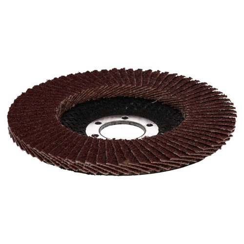 "60Grit Flap Discs Sanding Grinding Rust Removing For 4-1/2"" Angle Grinders 20pc"