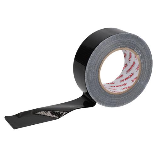 6 x Heavy Duty Waterproof Black Duct Tape 50mm Wide x 50 Metres Total Length