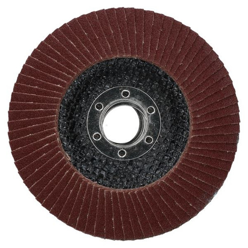 "10 x Flat Discs 120 Grit For Angle Grinder 4.5"" (115mm) Flat Sanding Grinding"
