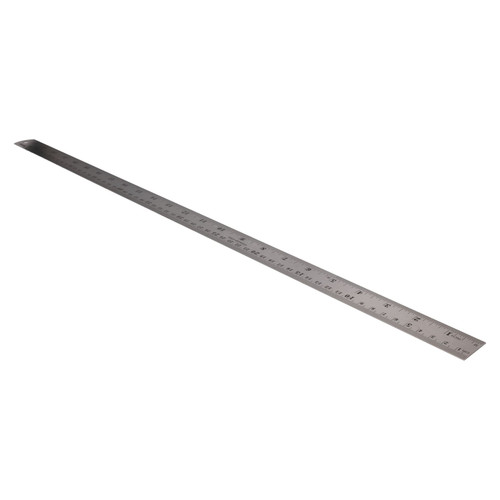 "6"" - 40"" 4pc Stainless Steel Ruler Imperial Metric Markings Measuring Measure"