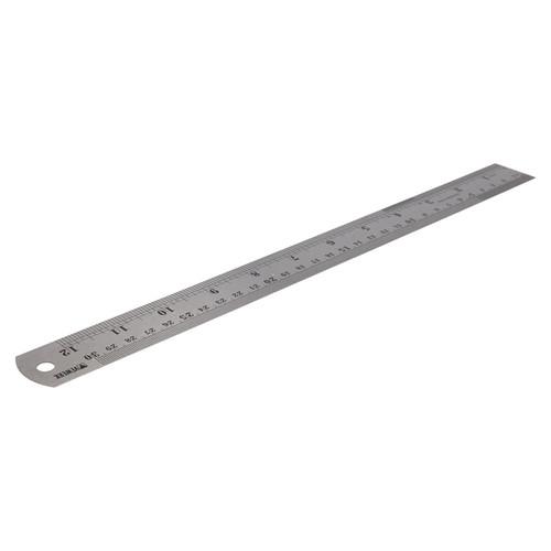 """NEW Depth Gauge Metric Imperial 300mm 30cm 12/"""" Hardened Steel Engineers Tool UK"""