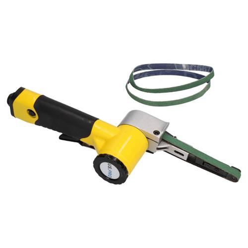 10mm Variable Speed Air Belt Sander 5 Speeds + 53 x 330mm x 10mm Belts