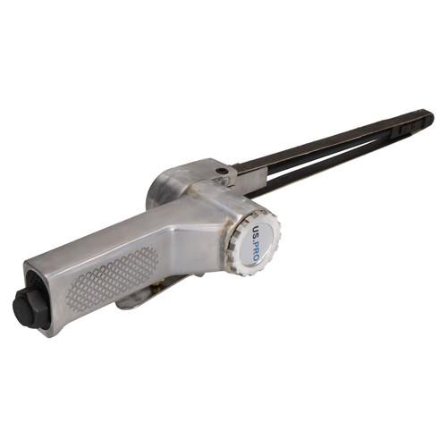10mm Extra Long Reach Air Belt Sander Power File Detail Sanding 600mm x 10mm