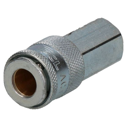 "2pk Schrader Profile 17 Series Female Coupler 1/4"" BSP Female Thread Air Hose"