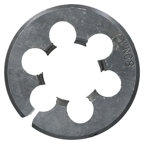 "1"" x 8 UNC Tap & Die Tungsten Steel Taper and 50mm Split Die"