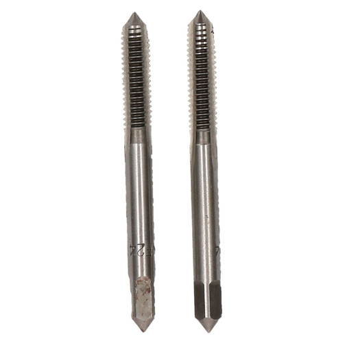 "1/4"" x 24 UNF Taper & Plug Tap Set Tungsten Steel Thread Cutter"