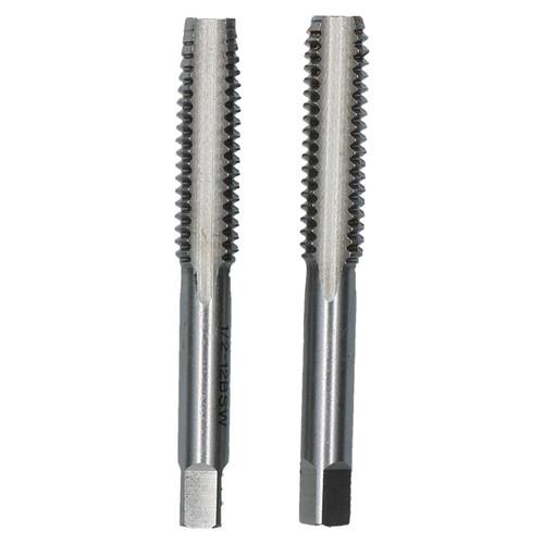 """1/2"""" x 12 BSW Whitworth Tap Tungsten Steel Taper & Plug Thread Cutter"""