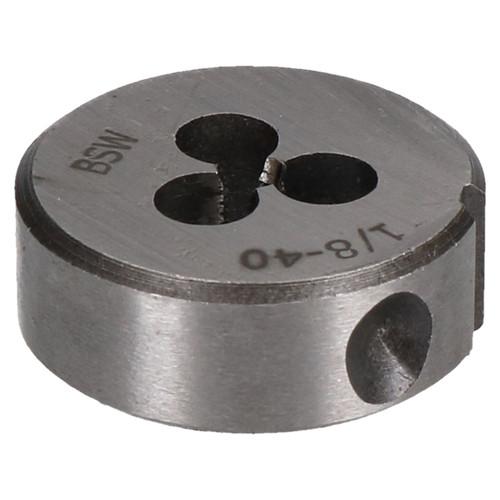 """1/8"""" x 40 BSW Whitworth 25mm Circular Die Tungsten Steel Thread Cutter"""