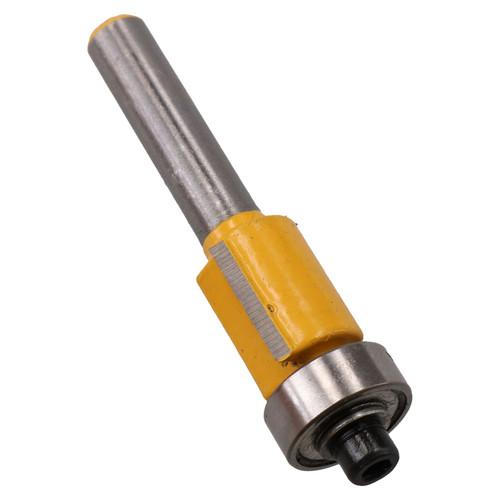 TCT Flush Bearing Guided Trim Router Bit 12.7mm Depth Cutter Tool 1/4 Shank