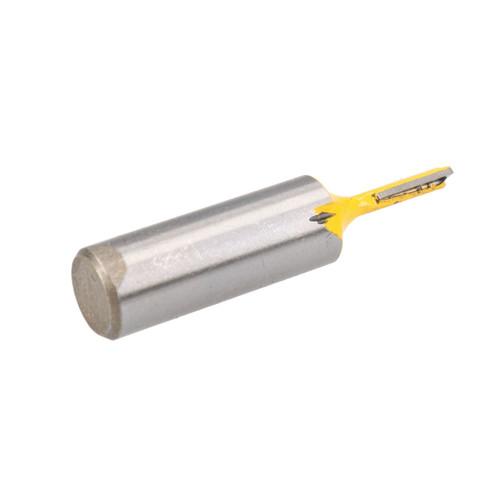"""TCT Straight Cut Router Bit 3.2mm D 12mm Depth Cutter Cutting Tool 1/2"""" Shank"""