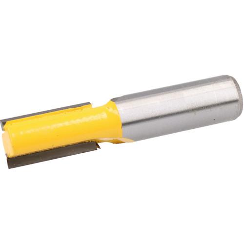 """TCT Straight Cut Router Bit 12.7mm D 25mm Depth Cutter Cutting Tool 1/2"""" Shank"""
