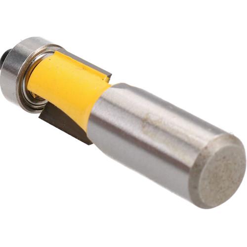 """TCT Flush Bearing Guided Trim Router Bit 15mm Depth Cutter Tool 1/2"""" Shank"""